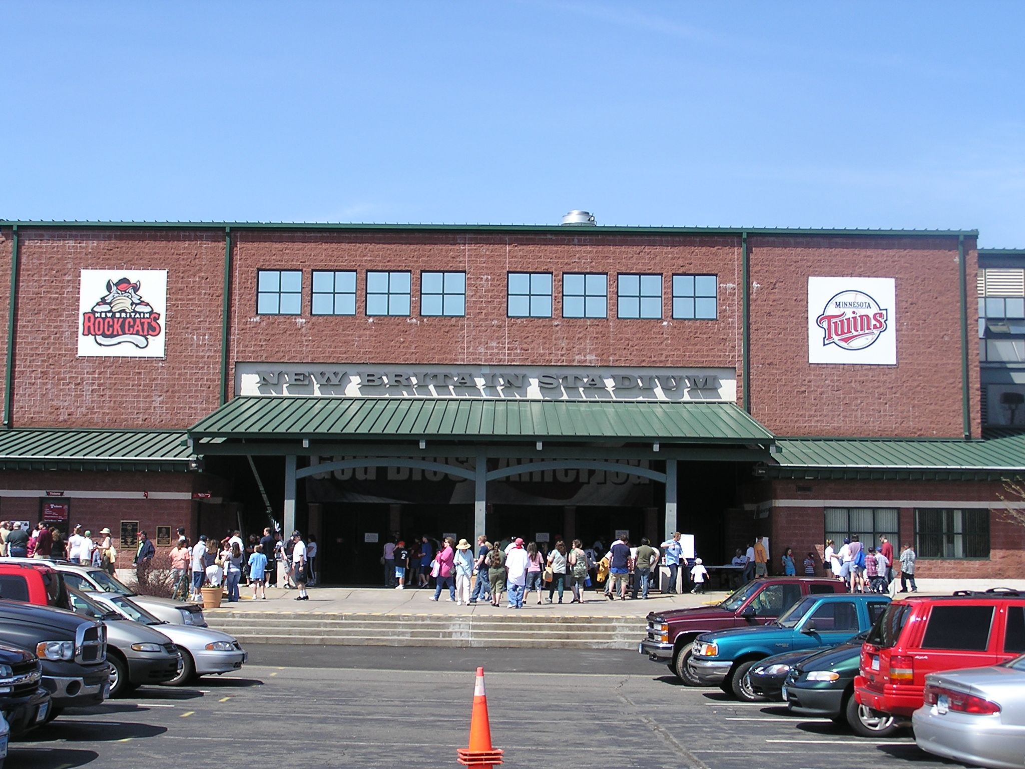 New Britain Stadium - Exterior
